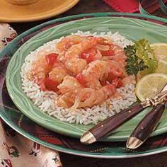 Texas Lemon Shrimp Recipe
