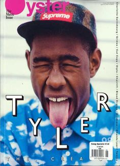 I wasn't sure what board to pin the under, but this is Tyler from Loiter Squad! Cover of Oyster Magazine.