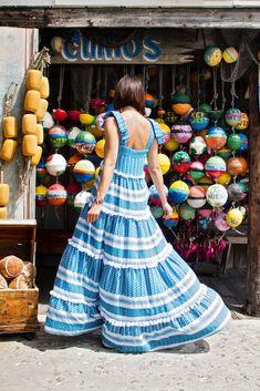 Wear + Where + Well : Dodo Bar Or maxi dress in Key West, Florida