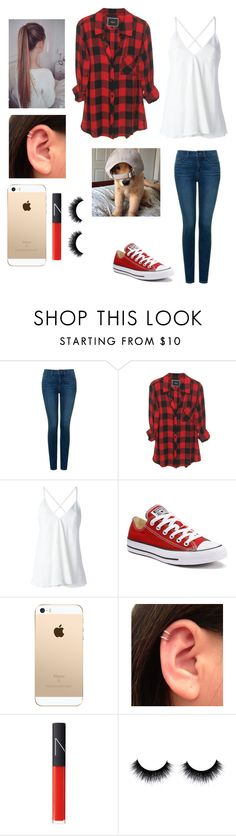 """""""Untitled #197"""" by burusa2 ❤ liked on Polyvore featuring NYDJ, Dondup, Converse and NARS Cosmetics"""