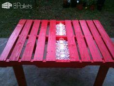 Garden Pallet Table Lounges & Garden Sets Pallet Desks & Pallet Tables