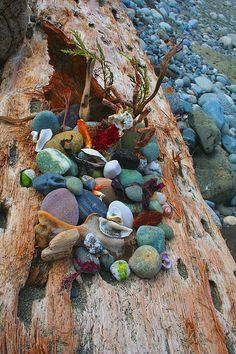 Participants Nature Altar by Anahata Katkin / PAPAYA Inc., via Flickr