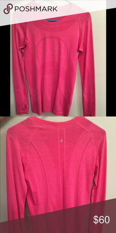 Lulu lemon long sleeve In perfect condition, only worn a few times lululemon athletica Tops Tees - Long Sleeve