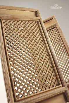 Geometric Lattice Panels / Small Doors