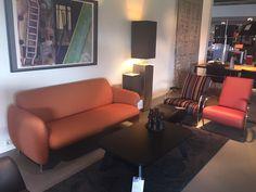 Gelderland bank 7730 en fauteuil 5770 by Jan des Bouvrie gepresenteerd door Scherer Design te Uithuizermeeden #gelderlandmeubelen #dutchdesign #interieur #schererdesign