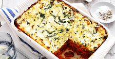 I've put this on my Vegetarian board as I've been mincing (vegetarian chicken fillets) therefore can substitute this for the pork. Australian Mushrooms |   Spinach, Ricotta & Mushroom Lasagne