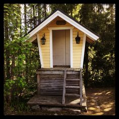 #maitolaituri Koti, Finland, Berries, Shed, Gardens, Outdoor Structures, Chicken, Vintage, Outdoor Gardens