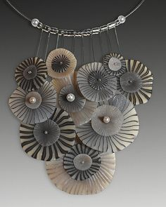 organic necklace by Laura Tabakman, via Flickr