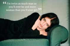 Brian Molko of Placebo-I'm a lady and I seem to find myself with a hard on for this androgynous sexy chap, love the quote~