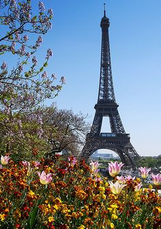 Spring in Paris - France
