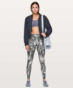 213b7c3f Lululemon Wunder Under Hi-Rise Tight *Brindle Foil 28