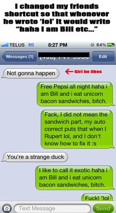 You Should Try These Autocorrect Pranks On Everyone You Know #funny #pictures #photos #pics #humor #comedy #hilarious #joke #jokes #text #texts #prank #pranks