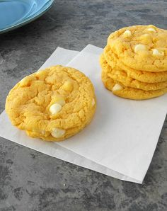 Orange Creamsicle Cookies