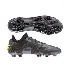 Adidas X 15.1 Cleats Black FG