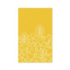 I pinned this Season Rug in Canary Yellow from the Lemon & Lime event at Joss and Main!