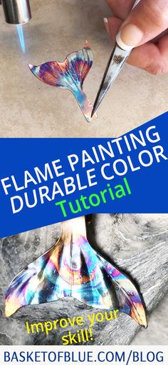 Loving the craft of flame painting copper? This tutorial explains how to get more durable colors that don't fade with clear coat. Homemade Wedding Gifts, Homemade Anniversary Gifts, Anniversary Ideas, Wedding Anniversary, Jewelry Tools, Copper Jewelry, Jewelry Crafts, Jewlery, Copper Basket
