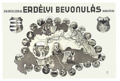 Erdélyi bevonulás alkalmával 1940 aug. 30. My Heritage, Illustrations And Posters, Playing Cards, History, Travel, Flags, Hungary, Maps, Illustrations Posters