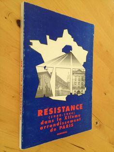 #histoire : Résistance (1940-1944) dans le XIIème arrondissement de Paris. Mémorial. Editions France-d'Abord, imprimé pour le compte du comité du 12ème des Anciens Combattants de la Résistance (A.N.A.C.R.), 1992. 190 pp. brochées.