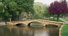 Stone Bridge- Bourton-on-the-Water(Cotswolds), England | Photos of Europe: Fine Art Photographs by Dennis Barloga