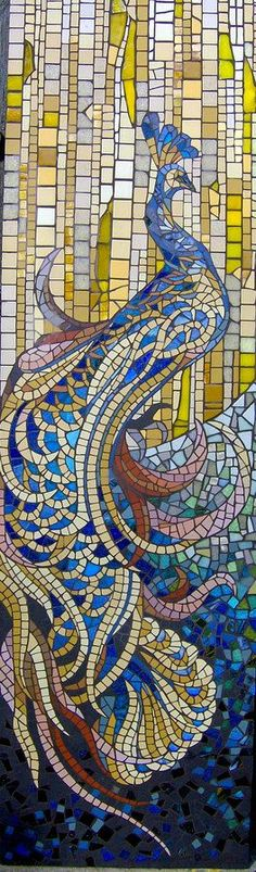 Mosaique Decoration Interieure by Patricia Hourcq - nice gallery of work | Mosaics & Tile Design | Pinterest | Glasses, Curves and Stained glass