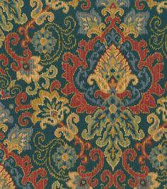 $14.99 on sale. Use to make a floor pouf!!!  Waverly Home Decor Print Fabric Magic Carpet SapphireWaverly Home Decor Print Fabric Magic Carpet Sapphire,