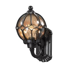 Elk Lighting Madagascar 1 Light Wall Lantern & Reviews | Wayfair