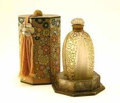 "1925 R Lalique Perfume Bottle - Gabilla ""Narcisse"""