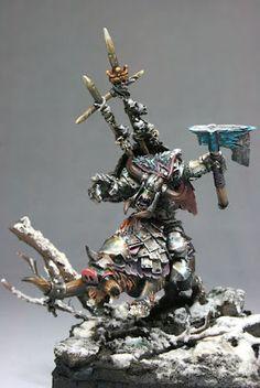Fernando Delgado Art: Warhammer: Gorbad Ironclaw