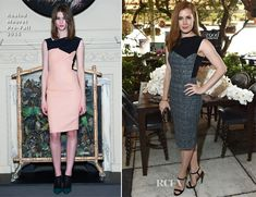Amy Adams In Roland Mouret  – The Hollywood Reporters' 25 Most Powerful Stylists in Hollywood Luncheon