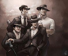 Human Midnight Crew by arok318.deviantart.com on @deviantART