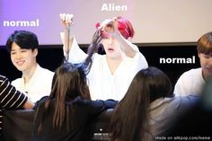 He hates being called Alien but we have to admit he does so weird stuff XD Meme Center | allkpop