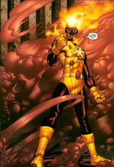 Image result for firestorm superhero art