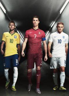 Cristiano Ronaldo |Neymar|Wayne Rooney|Nike Commercial |