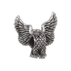 Persona Sterling Silver Soaring Eagle Bead - Zales- IN MEMORY OF POPPY <3