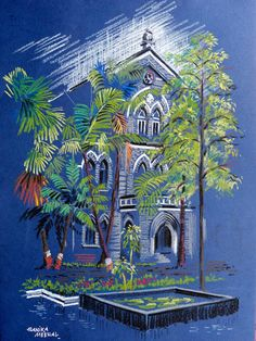 ArtEWorld by Sanika Dhanorkar: Fergusson College, Pune, India