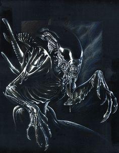 Alien by Buchemi on DeviantArt