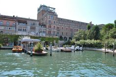 The Hotel Excelsior on the Lido.  One of the most beautiful hotels in Italy, the Excelsior is a short water taxi ride from Venice.  The Lido, off Venice's coast, is a lovely island that hosts the annual Venice Film Festival.