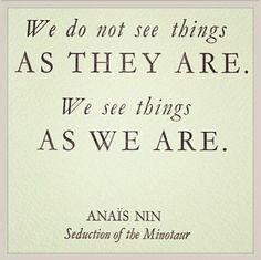 Quote: perception