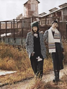 So Young Kang featured in Grunge Mate, October 2013