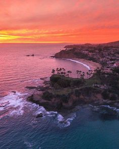 SoCal during a pink sunset  | Laguna Beach California |  Eric Rubens Photography Say Yes To Adventure