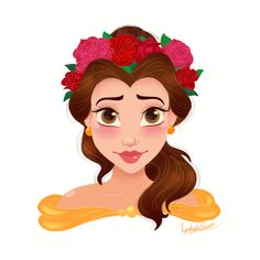 Rocio's Belen Ferreiro Art Princess-Beauty-Case Disney Belle Disney Belle, Disney Nerd, Disney Fan Art, Disney Girls, Disney Movies, Disney Princess Drawings, Disney Princess Art, Disney Drawings, Disney And Dreamworks