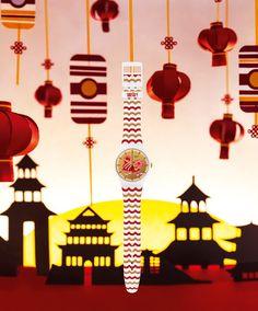 Fantechnology: Swatch festeggia il capodanno cinese