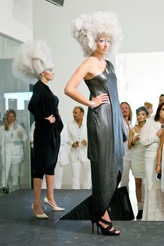 TONI&GUY Fashion show. Cool hairstyles, makeup, and outfits