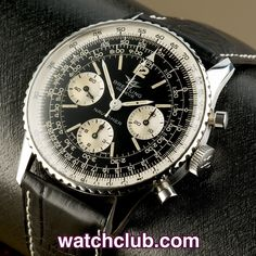 "Breitling Navitimer - Vintage 1966 ""Twin Planes"" REF: 806 