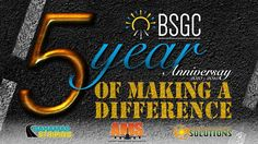 5 Year Anniversary of Making a Difference!