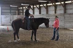 Sam is being ridden by his student trainer. For more information visit us at horses.missouri.edu. #MUEquine #riding #horsebackriding #mizzou #western #westernsaddle #saddle #tack #training #trainer #fundraiser #auction #countdown