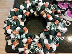 A Little Bolt of Life: DIY Ribbon Wreath