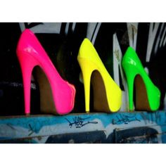Neon Pumps for summer