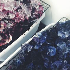 Ice Dyeing Process