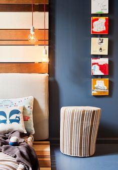Amazing tween bedroom with blackboard wall / wood / Amazing bedroom / casahaus.net